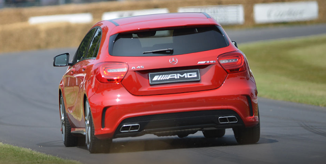 More powerful Mercedes A45 AMG faces up to Audi RS3