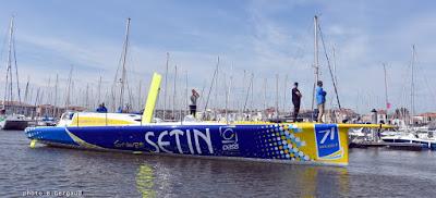 Groupe Setin de Manuel Cousin est à l'eau.