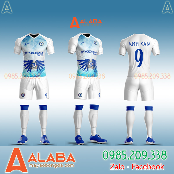 Áo Chelsea tự thiết kế đẹp mã ALB CH01