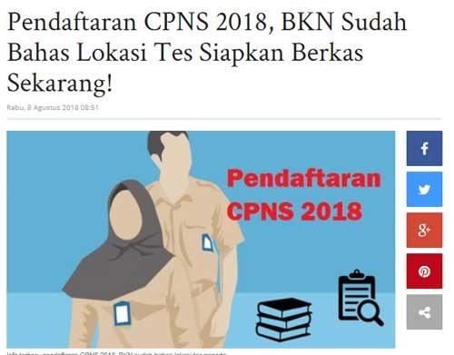 berita cpns dari makassar tribunnews