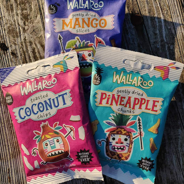 dried fruit in compostable packaging from Wallaroo