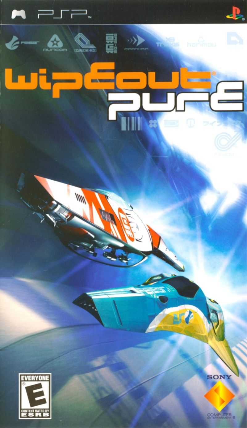 Wipeout Pure - PSP - ISO Download