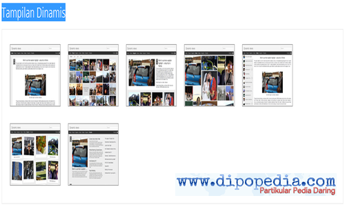 Ilustrasi Template Tampilan Dinamis Blogger Menunjukkan Kesalahan Tag hreflang