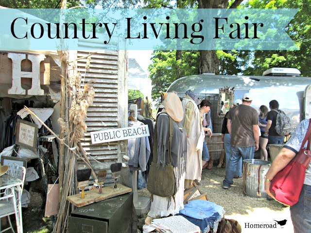 The 2018 Country Living Fair in Rhinebeck, NY