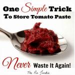 How to Store Leftover Tomato Paste