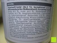 Zutaten: Lineavi Vitalkost – Der gesunde Diät Shake für Ihr Abnehmprogramm + Shaker, 500g (Starterpaket)