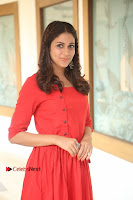 Actress Lavanya Tripathi Latest Pos in Red Dress at Radha Movie Success Meet .COM 0089.JPG