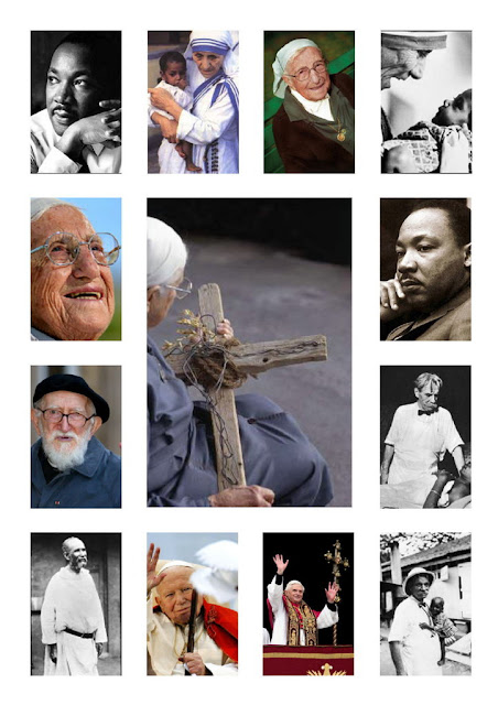 les témoins de la foi, les missionnaires