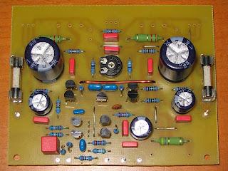 Sym5 Class AB BJT 100 Watt Hi-End audio power amplifier pcb