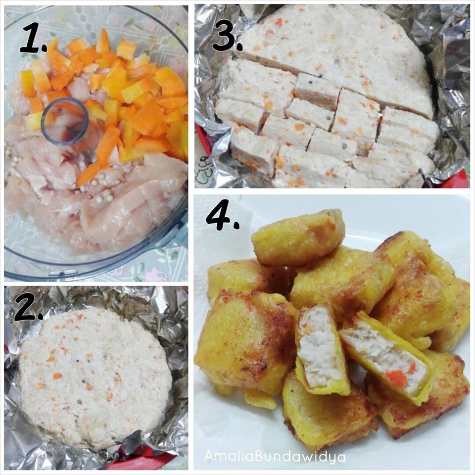 Resepi Nugget Ayam Mudah dan Sedap (Homemade) | Tips Sihat