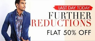 (Last Day) Flat 50% Off +  Extra 30% or 25% Off on Clothing & Footwear at Myntra
