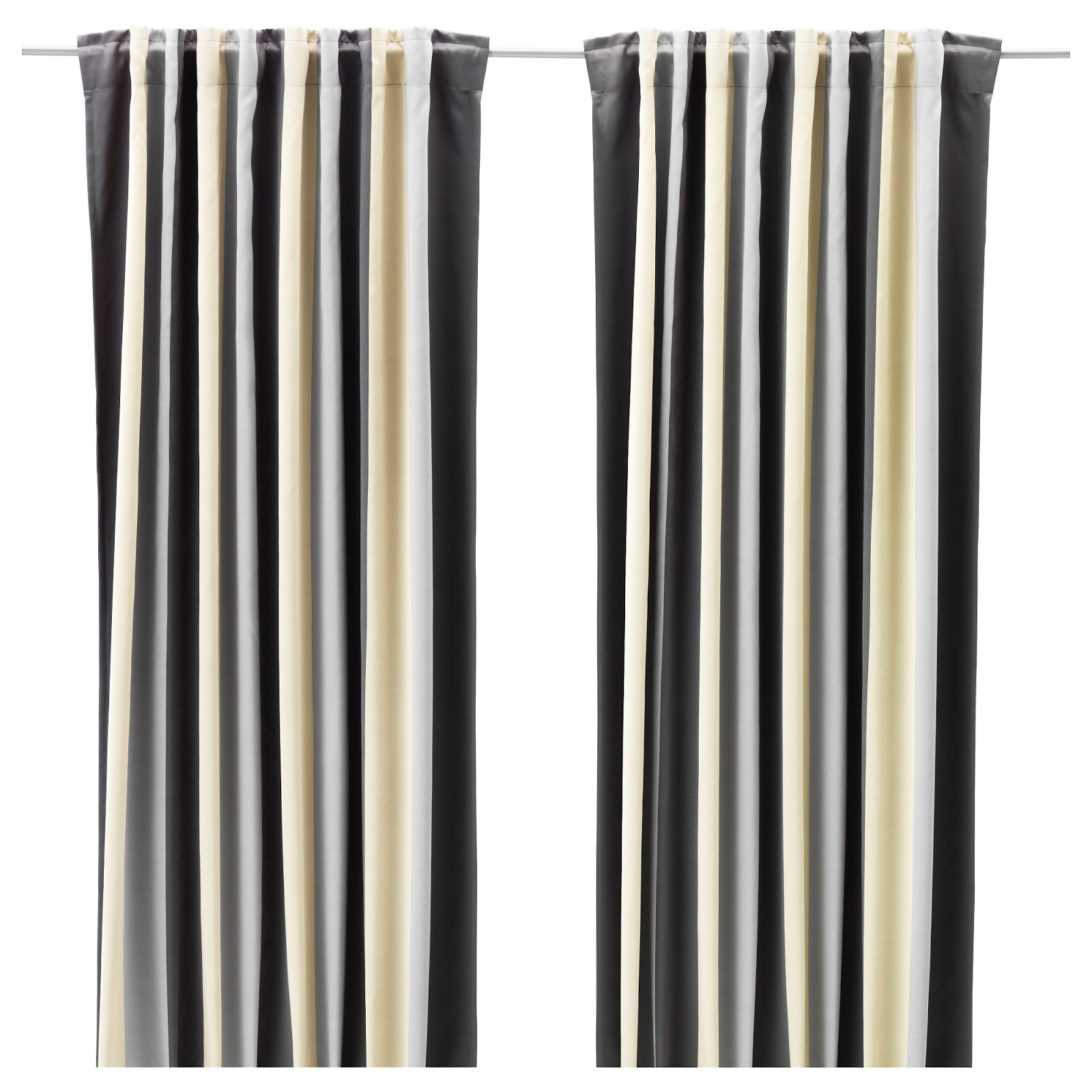 Curtains With Header Tape Holdbacks Holes Hook Pins Hooks