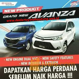 harga grand new avanza veloz 2015 bbm untuk mobil di bandung dealer toyota
