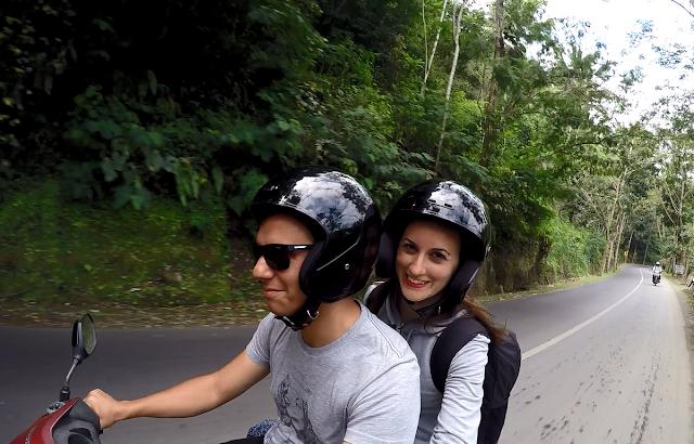 En moto por Bali
