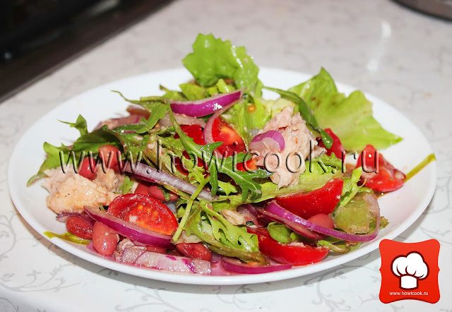 рецепт легкого салата