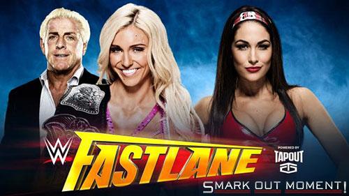 WWE Fastlane 2016 Charlotte vs Brie Bella