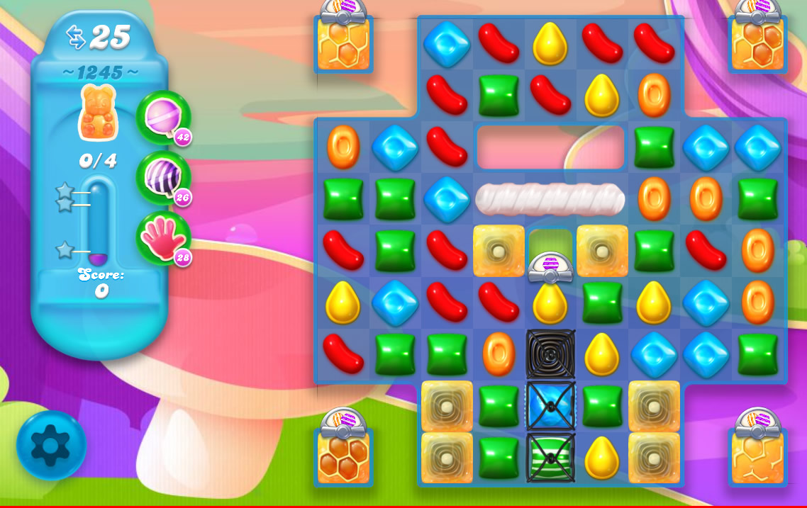 Candy Crush Soda Saga level 1245