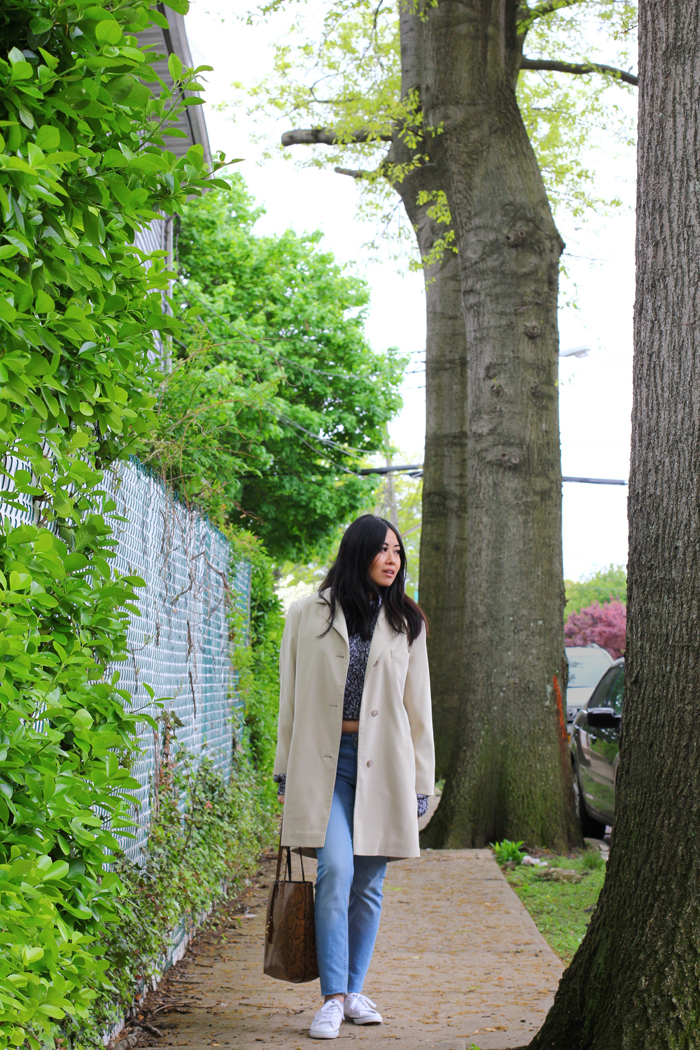 ootd post by fashion blog CutandChicVintage