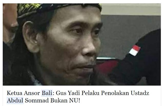 Penolakan Ustadz Abdul Somad di Bali