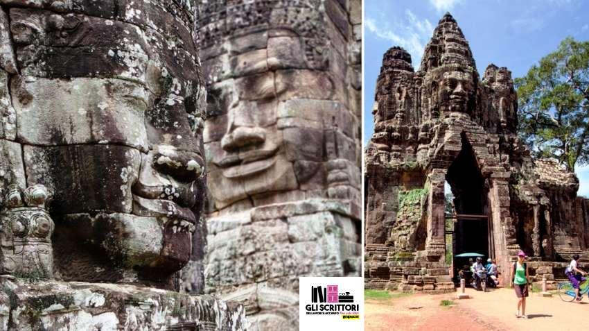 I tre templi più famosi della Cambogia: Bayon e Porta di Angkor Thom