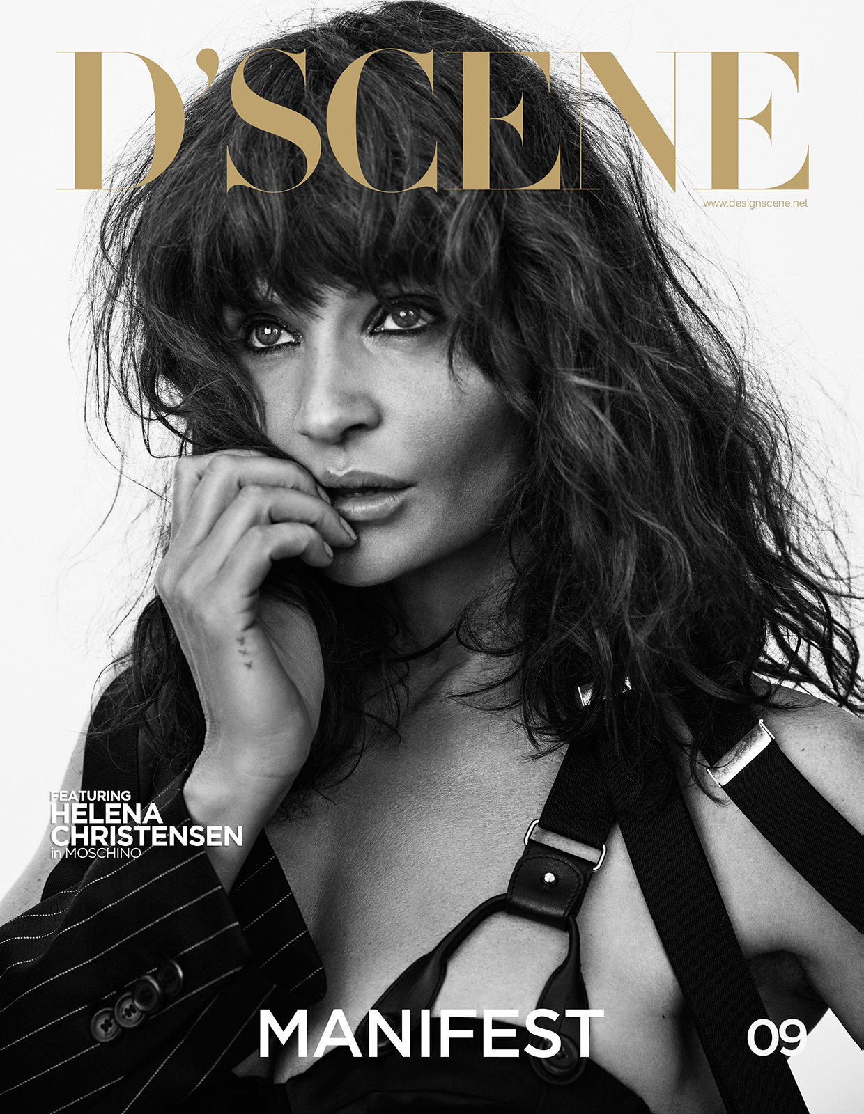 Helena christensen gq uk oct 2007 by michael williams hq scans - 2019 year