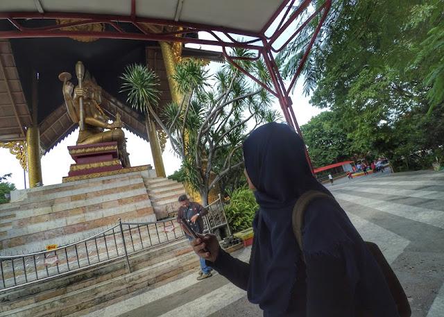 Monumen Budha 4 Wajah Kenjeran Park