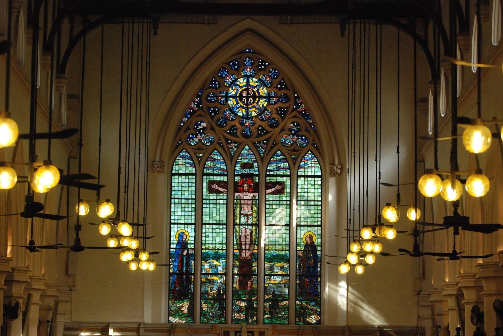 香港的浪漫建築 - 本地歷史教堂建築   拍拖好去處