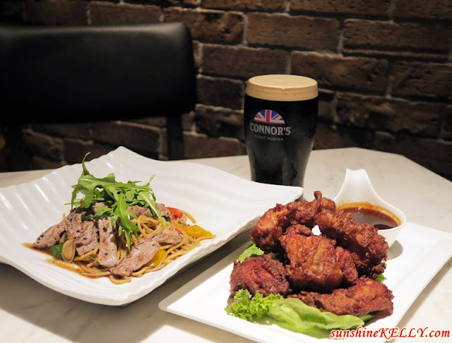 The CONNOR'S Experience, Connor's stout porter, Meja Kitchen & Bar, TREC KL