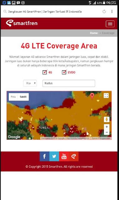 Cara Cek Wilayah Yang Sudah Dijangkau Jaringan 4G Untuk Kartu Smartfren