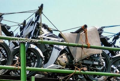 Satria F150 FI Stripping Baru - Putih