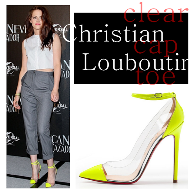 Christian Louboutin Clear Cap-Toe pumps