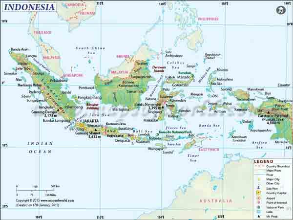 Bentuk muka bumi dasar laut di sekitar pulau bali pada kedalaman > 2000 m. Peta Unsur Unsur Peta Jenis Jenis Peta Dan Fungsinya Juragan Les