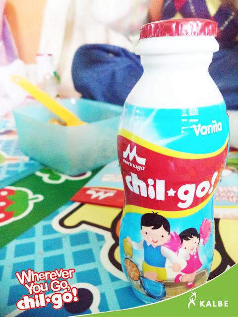 review susu cair morinaga chil-go!