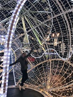 christmas market at glasgow and edinburgh blogmas glitterisblack