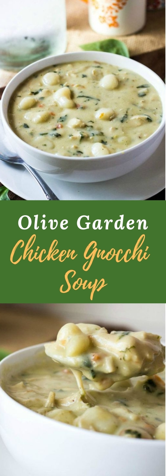 OLIVE GARDEN CHICKEN GNOCCHI SOUP #dinner #soup