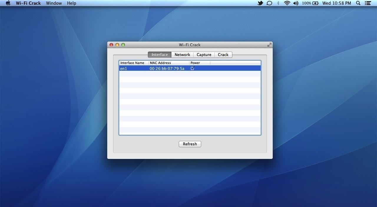 Wi-Fi Crack v1 03 – OS X GUI for Aircrack-NG | macOS | NMac Ked