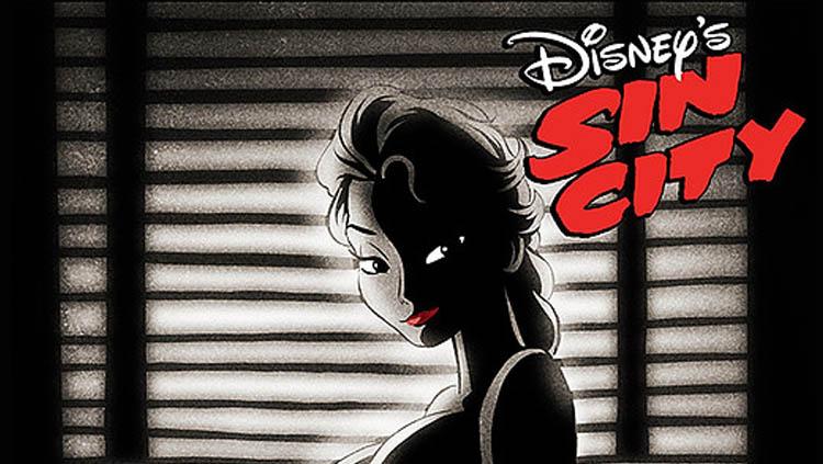 Elsa in Sin City
