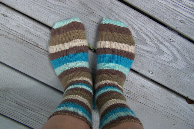 Summer Knitting Knit Picks Striped Socks