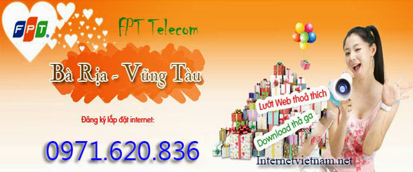 Lắp Đặt Internet FPT Huyện Long Điền