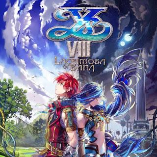 Portada del juego Ys VIII: Lacrimosa os Dana (Falcom, 2017, PS VITA)