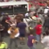 Filipino Protesters Run Over By Police at the US Embassy in Manila
