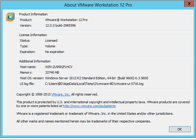 VMware Workstation Pro v12.5.2 Setup (Windows & Linux) + Pro Serial Key Full Version http://www.nkworld4u.com/