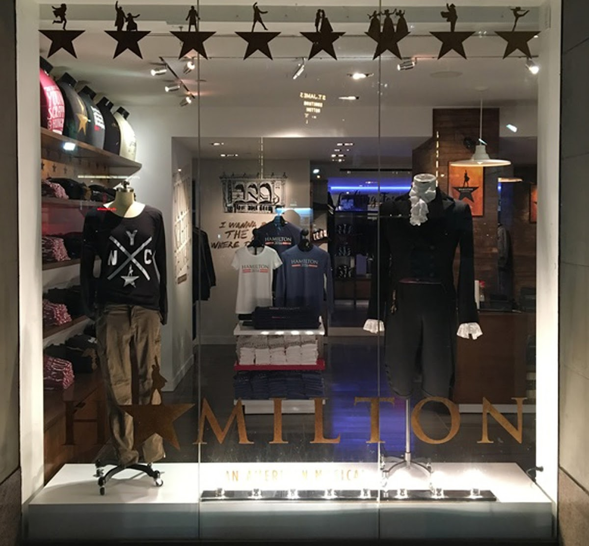Photo looking into the Hamilton store
