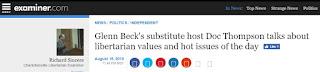 Glenn Beck Examiner.com radio
