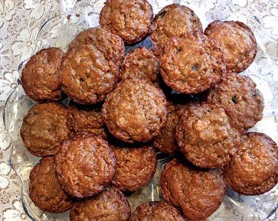platter of muffins