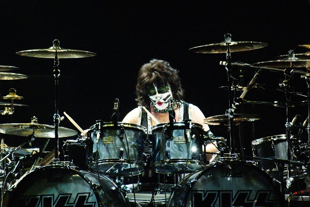 Kiss Drummer Face Paint