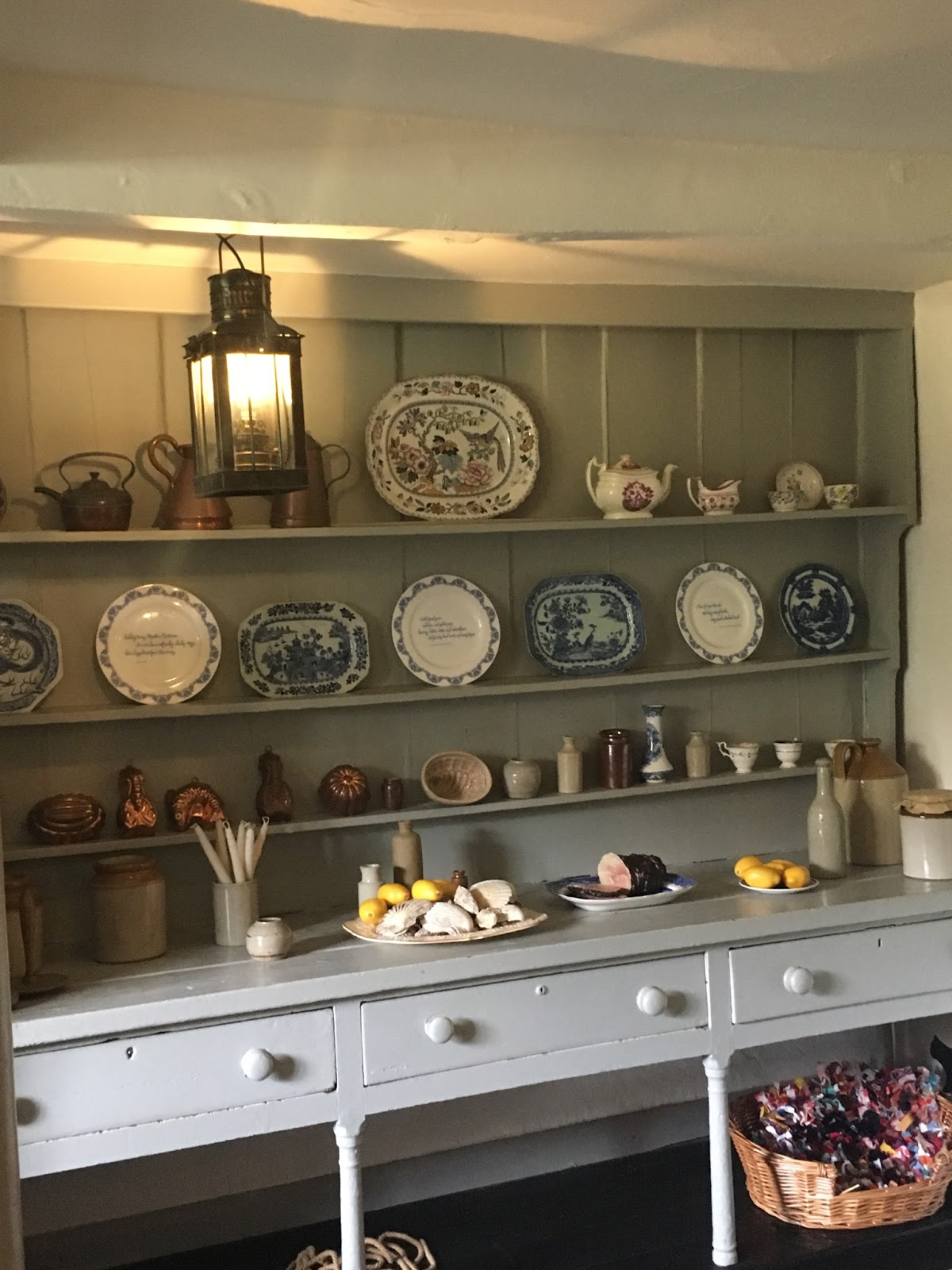 Kitchen at the Keats House, Hampstead