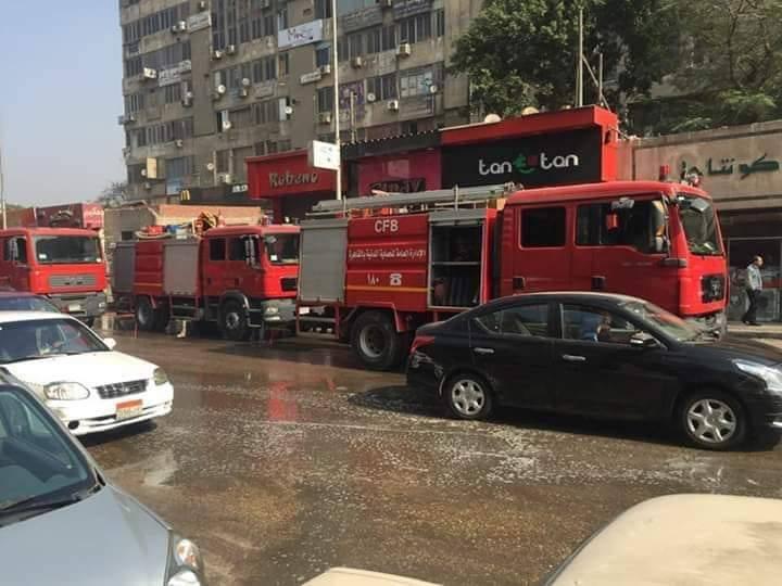 عاجل.. حريق بسوق ممر الراعى الصالح بشبرا (فيديو وصور)