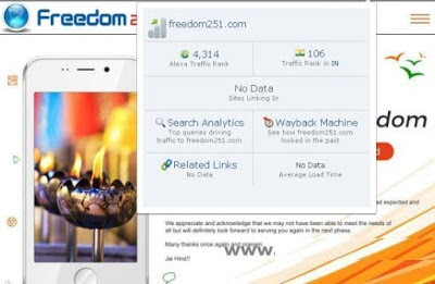 Full Report of Freedom 251 Smartphone and its Social Media Ranking and Likes