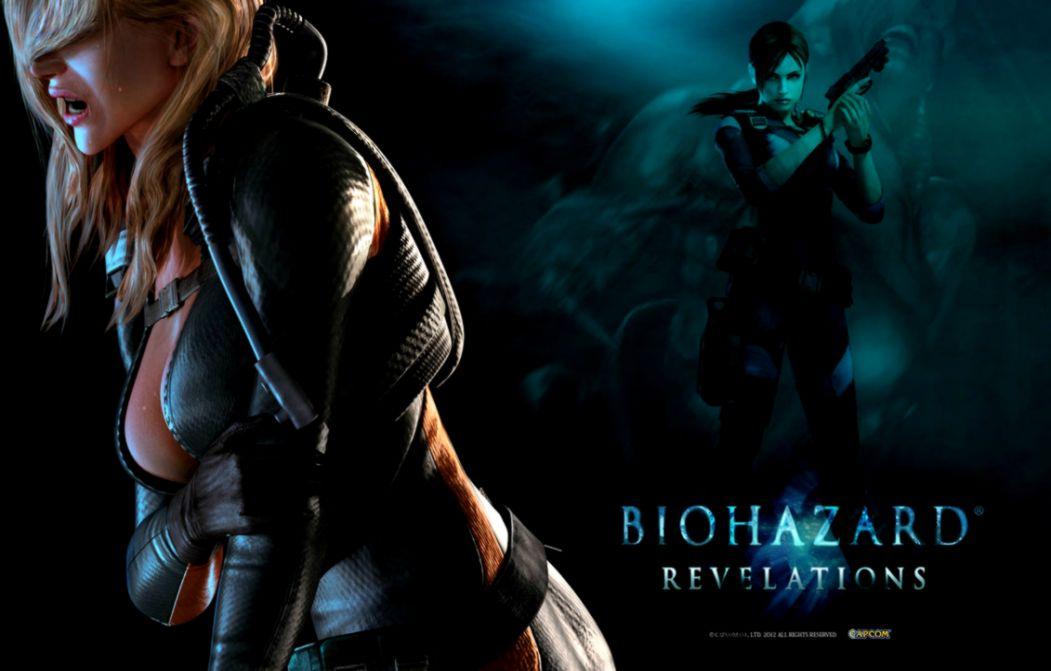 Resident Evil Revelations Wallpaper Rachel And Jill